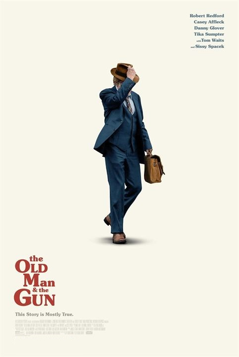 Filmplakat THE OLD MAN AND THE GUN