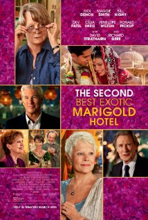 Filmplakat THE SECOND BEST EXOTIC MARIGOLD HOTEL - engl. OmU