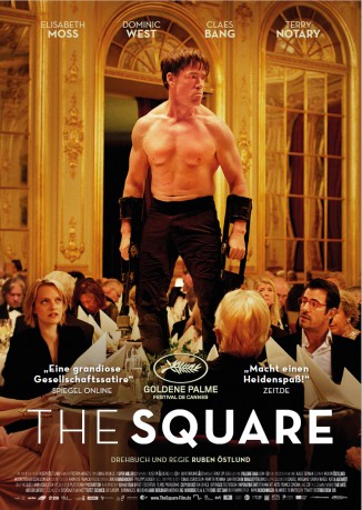 Filmplakat THE SQUARE