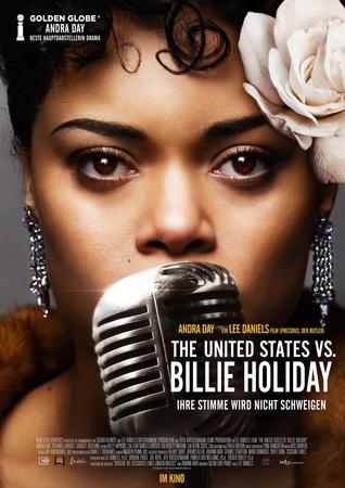 Filmplakat THE UNITED STATES VS BILLIE HOLIDAY - Ihre Stimme wird nicht schweigen
