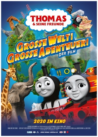 Filmplakat Thomas und seine Freunde -Große Welt! Große Abenteuer! Der Film