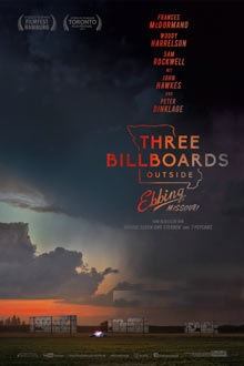 Filmplakat THREE BILLBOARDS OUTSIDE EBBING, MISSOURI - engl. OmU