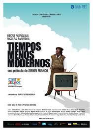 Filmplakat TIEMPOS MENOS MODERNOS - span. OmU