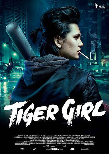 Filmplakat TIGER GIRL