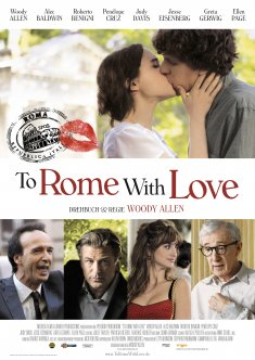 Filmplakat TO ROME WITH LOVE - OmU