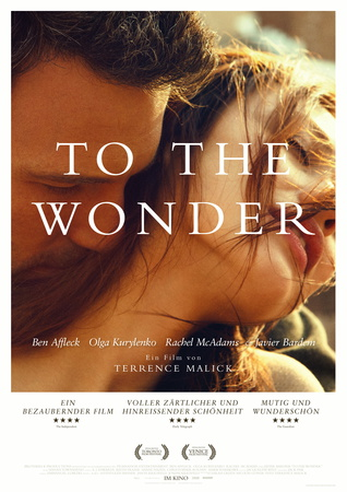 Filmplakat Terrence Malick: TO THE WONDER