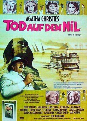 Filmplakat Tod auf dem Nil -1978