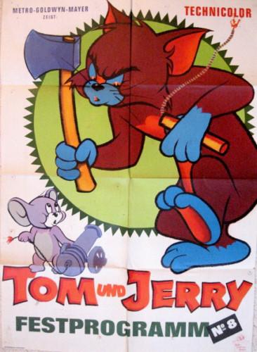 Filmplakat TOM und JERRY - Festprogramm