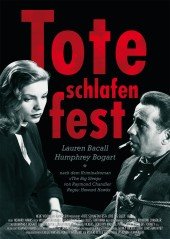 Filmplakat Tote schlafen fest - THE BIG SLEEP