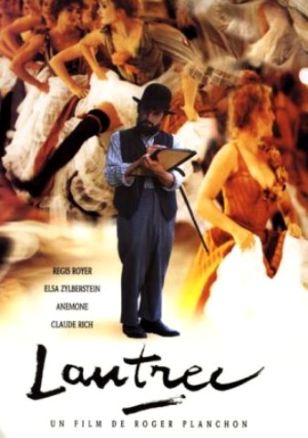 Filmplakat TOULOUSE LAUTREC - Der Maler vom Montmartre