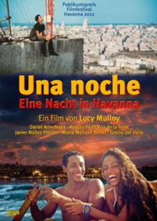 Filmplakat UNA NOCHE - Eine Nacht in Havanna - span. OmU