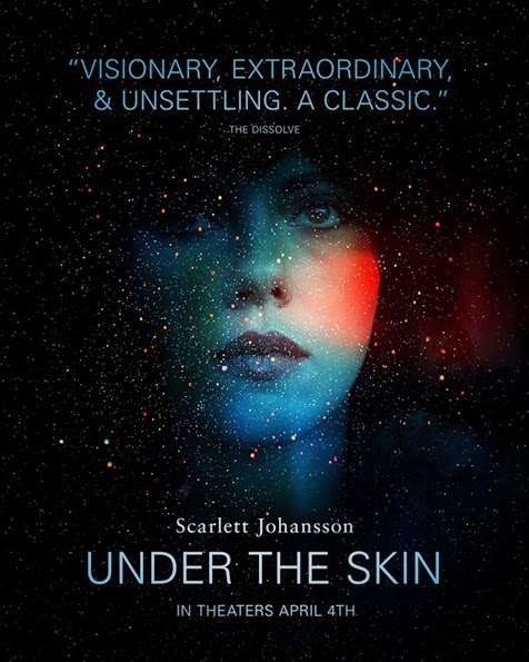 Filmplakat UNDER THE SKIN - engl. OF