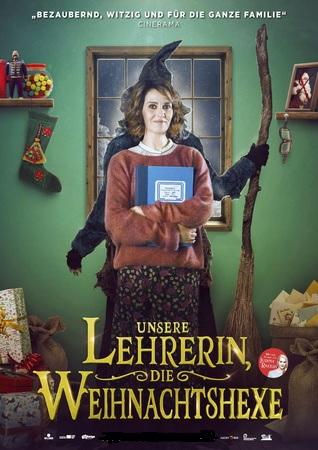 Filmplakat Unsere Lehrerin, die Weihnachtshexe