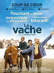 Filmplakat Unterwegs mit Jacqueline - LA VACHE - franz. OmU