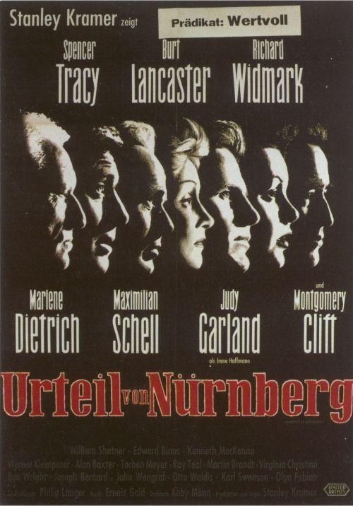 Filmplakat Urteil von Nürnberg