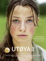 Filmplakat Utøya 22. Juli - norweg. OmU