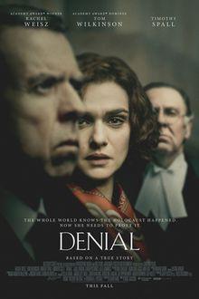 Filmplakat Verleugnung - DENIAL - engl. OmU