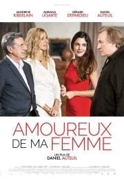 Filmplakat Verliebt in meine Frau - AMOUREUX DE MA FEMME - franz. OmU