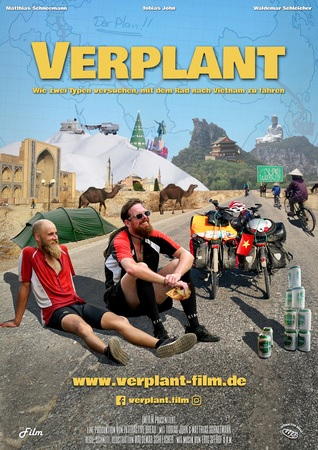 Filmplakat VERPLANT - Mit dem Rad nach Vietnam