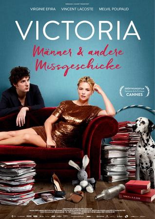 Filmplakat VICTORIA - Männer und andere Mißgeschicke