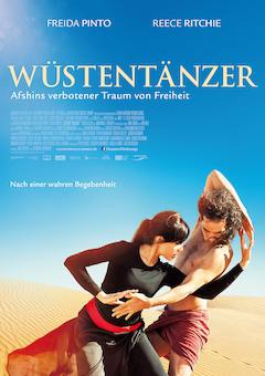 Filmplakat WÜSTENTÄNZER - Afshins verbotener Traum von Freiheit