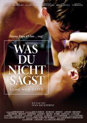 Filmplakat Was Du nicht sagst - Come non detto - ital. OmU
