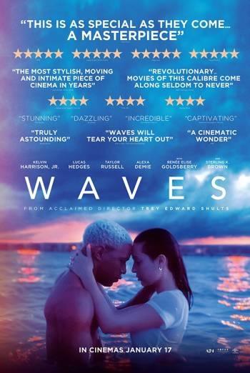 Filmplakat WAVES - engl. OmU