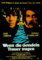 Filmplakat Wenn die Gondeln Trauer tragen - Don't LOOK NOW - engl. OmU