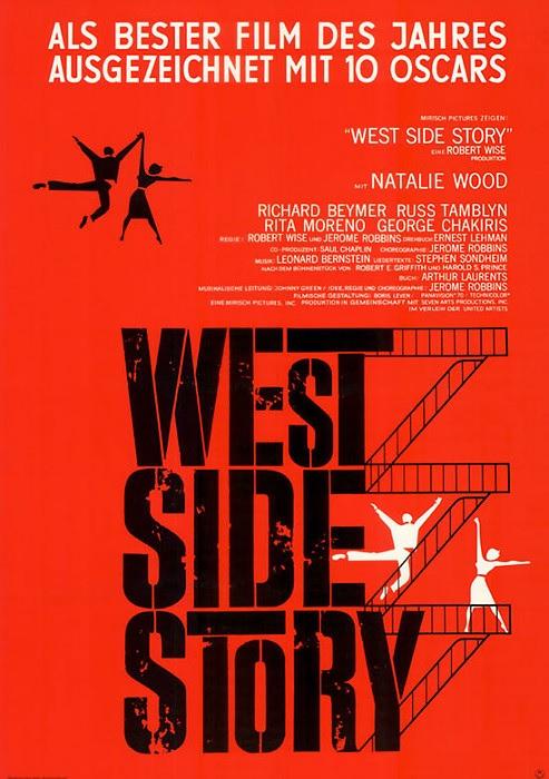 Filmplakat WEST SIDE STORY-  1961