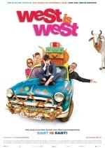 Filmplakat WEST IS WEST