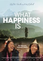 Filmplakat WHAT HAPPINESS IS - Auf der Suche nach dem Glück
