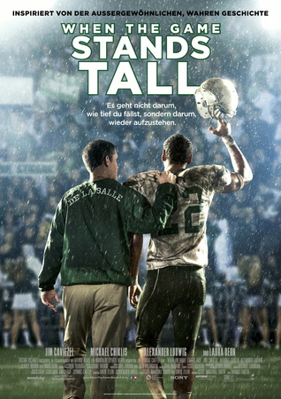 Filmplakat WHEN THE GAME STANDS TALL