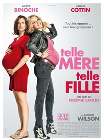 Filmplakat Wie die Mutter, so die Tochter - Telle mère, telle fille - franz. OmU