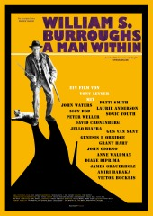 Filmplakat William S. Burroughs: A Man Within- engl. OmU