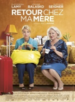 Filmplakat Willkommen im Hotel Mama - RETOUR CHEZ MA MÈRE - franz. OmU