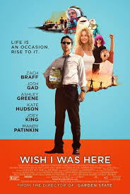 Filmplakat WISH I WAS HERE - engl. OmU