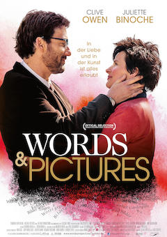 Filmplakat WORDS & PICTURES - engl. OmU
