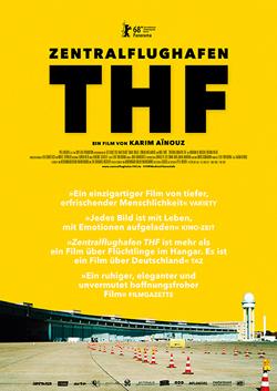 Filmplakat Zentralflughafen THF