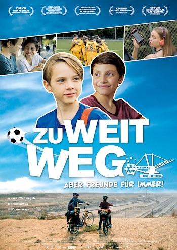 Filmplakat ZU WEIT WEG - aber Freunde für immer