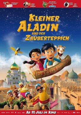 Filmplakat Kleiner Aladin und der Zauberteppich