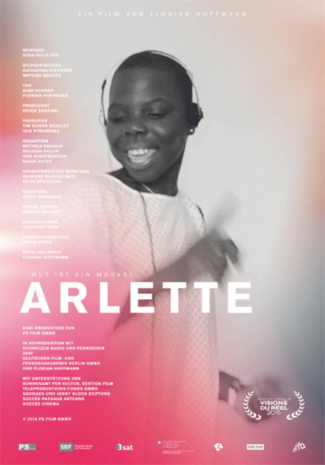 Filmplakat Arlette – Mut ist ein Muskel OmU
