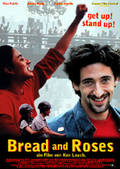 Filmplakat BREAD AND ROSES