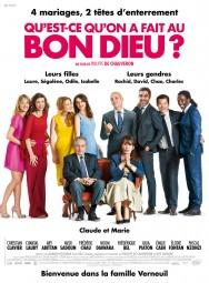 Filmplakat MONSIEUR CLAUDE und seine Töchter - franz. OmU -Qu'est-ce qu'on a fait au Bon Dieu?
