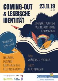 Filmplakat Kurzfilme & Generationengespräch: Coming-out und lesbische Identität
