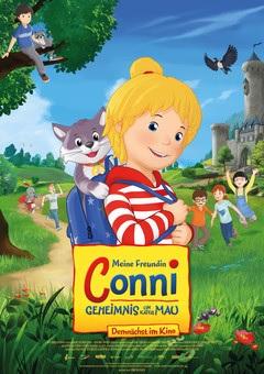 Filmplakat Meine Freundin Conni - Geheimnis um Kater Mau