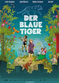 Filmplakat Der blaue Tiger