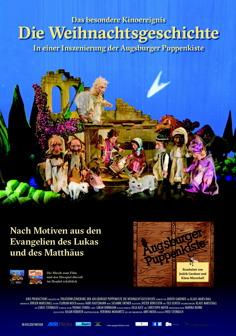 Filmplakat Die Weihnachtsgeschichte der Augsburger Puppenkiste