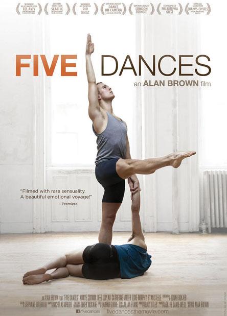 Filmplakat Five Dances - OmU