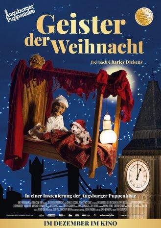 Filmplakat Augsburger Puppenkiste - Geister der Weihnacht