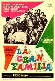 Filmplakat La Gran Familia - spanische Originalversion